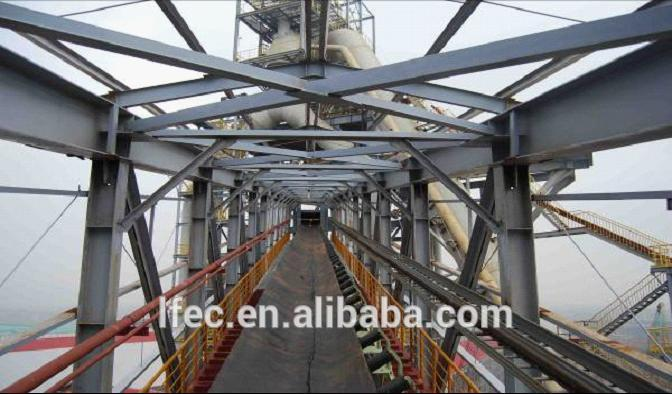 Galvanized Large Span Light Space Frame Prefabricated Steel Bridge