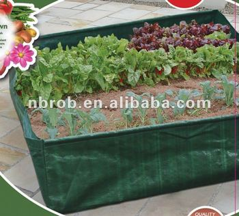 Garden Vegetable Planter Plastic Grow Bags