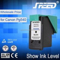 Refill ink cartridge for canon PG540 and CL541 with auto chip