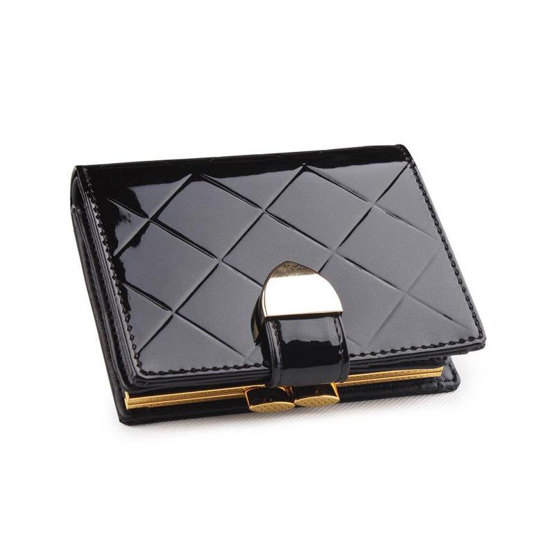 16f5b8bfe0f8 Buy 2015 Patent Leather Plaid Women's Small Wallet Short Design Fashion  Genuine Coin Purse Wallets For Women in Cheap Price on m.alibaba.com