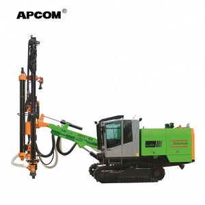 APCOM ZGYX-T424 automatic hydraulic rock portable mining drilling machine rig ground hole earth pile drilling machine