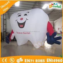 giant advertising inflatable tooth,tooth helium balloon