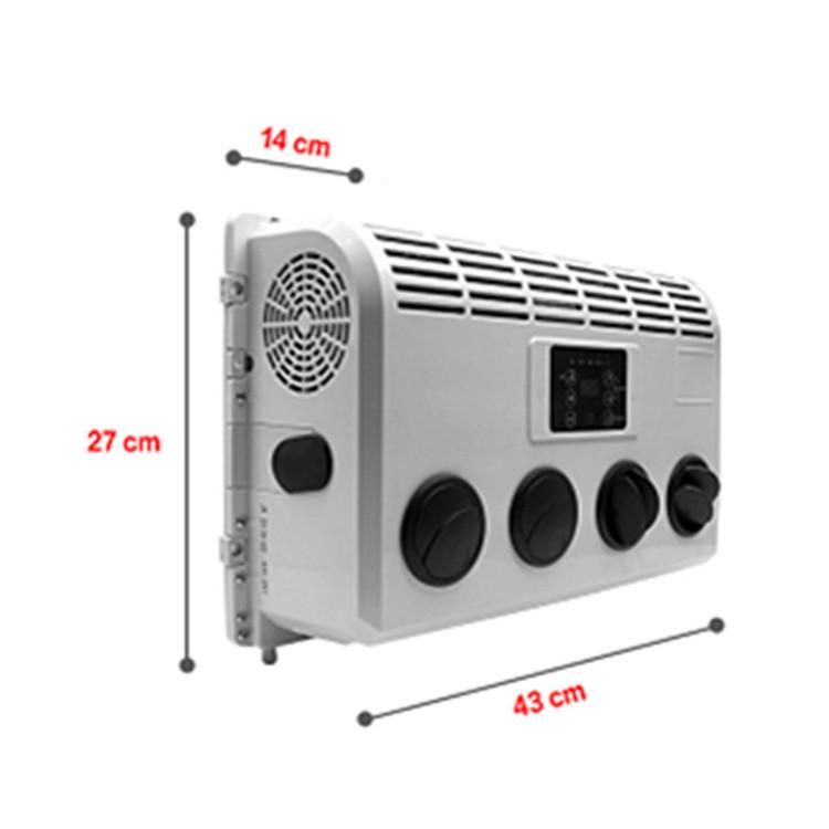 12v 24v dc portable tractor cab car air conditioner for cars