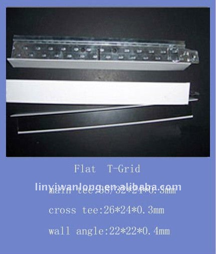 ceiling decorative tee grid,T-bar