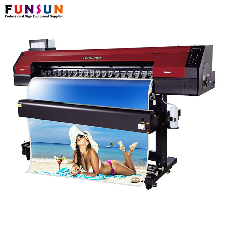 Funsunjet 1 7M industrial sublimation printing machine/plotter sublimation,  View plotter sublimation, FunsunJet Product Details from Shanghai Funsun