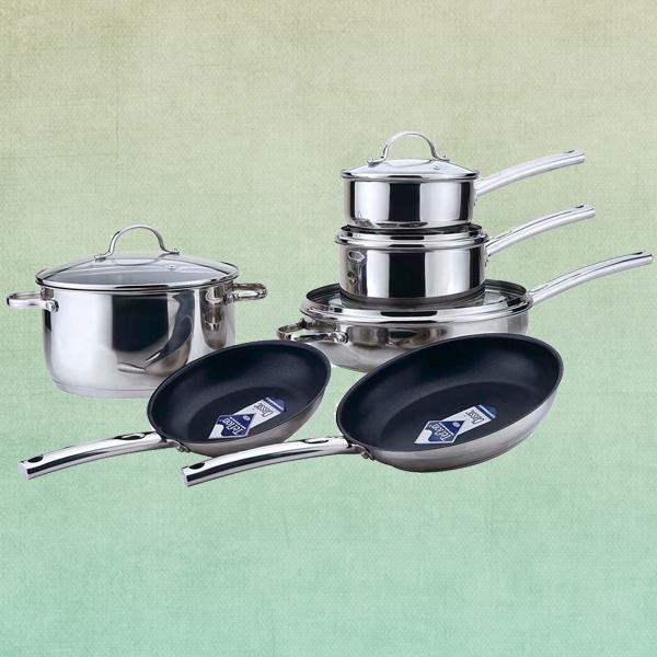 10 pcs chefline set peralatan masak kualitas tinggi for Gambar kitchen set high quality