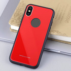 2018 Newest Tempered Glass Case Phone Cover For Iphone X, 9H Tempered Glass Phone Case For Iphone Case
