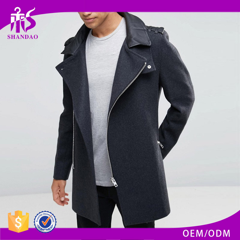 Shandao Zip Up Winter Custom fashion Design Campers Outdoor chamois leather jacket