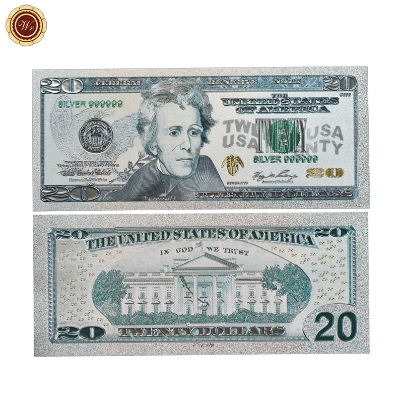 New Banknotes 2018 The United States Of America Challenge Banknotes 20 Colorful Old Paper Money Best Gifts For Collection