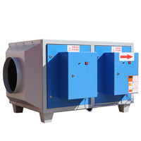 industrial fume scrubber air electrostatic exhaust smoke filter