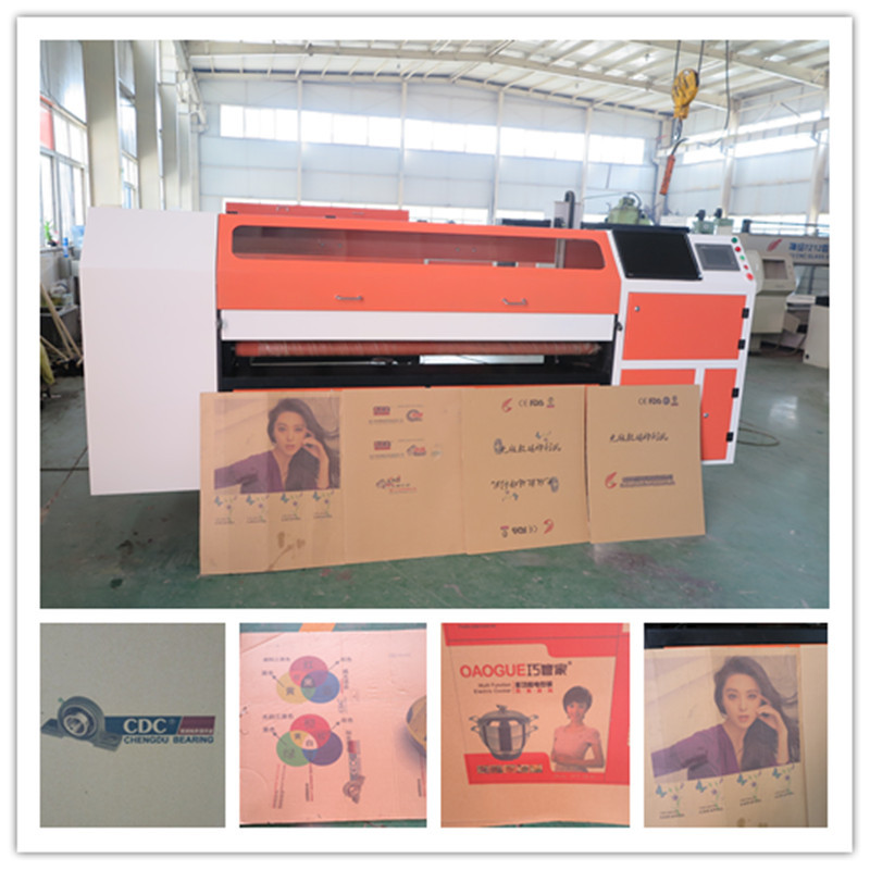 China Automatic Feeding And Cleaning Digital Printing Corrugated ...