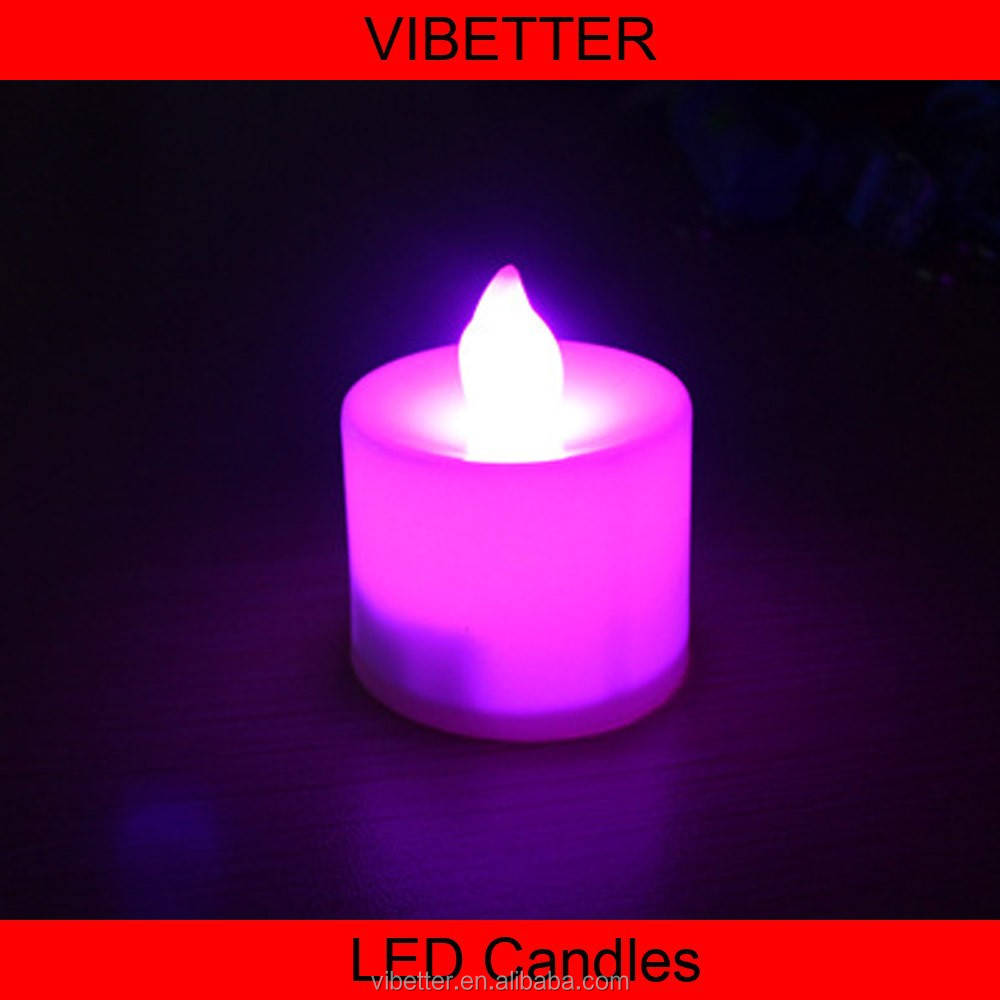 Battery Operated Ivory Flameless Moving Wick Led Candle,Led Real Wax Candle with Moving Wick ,Led Flameless Candle