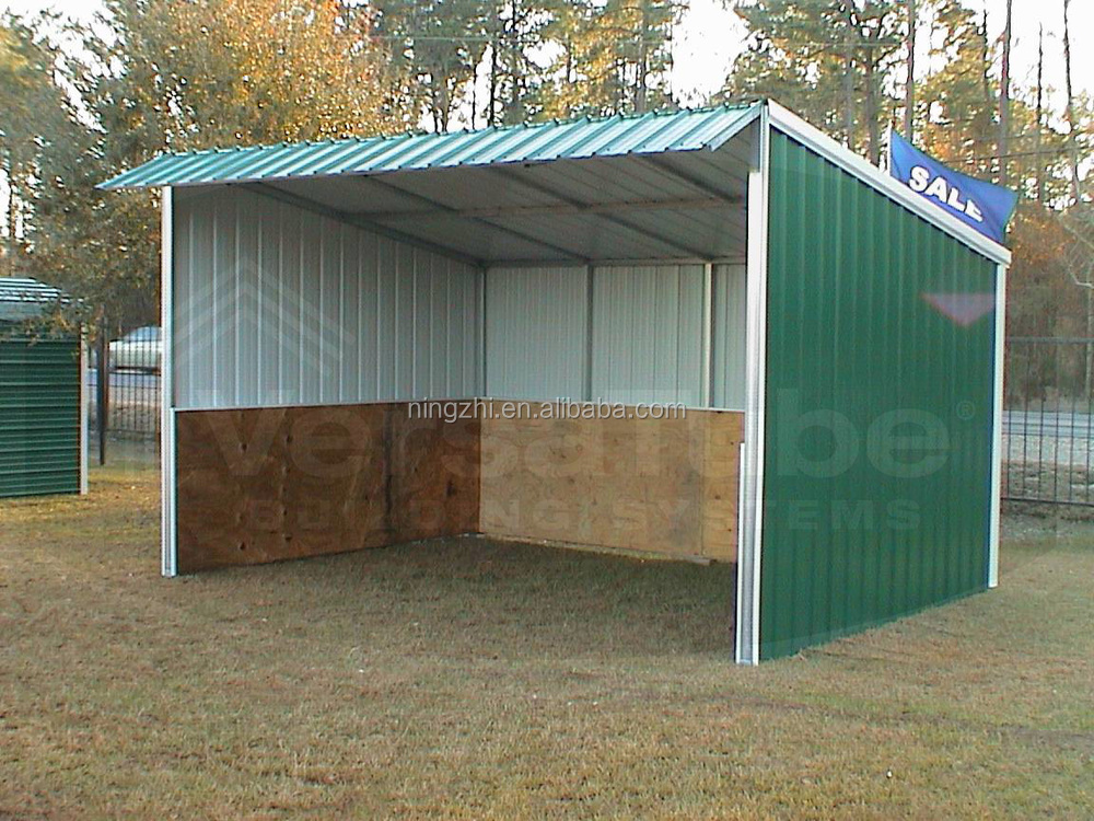Prefab metal horse barn animal barn shed shelter buy for Cost of building a horse barn