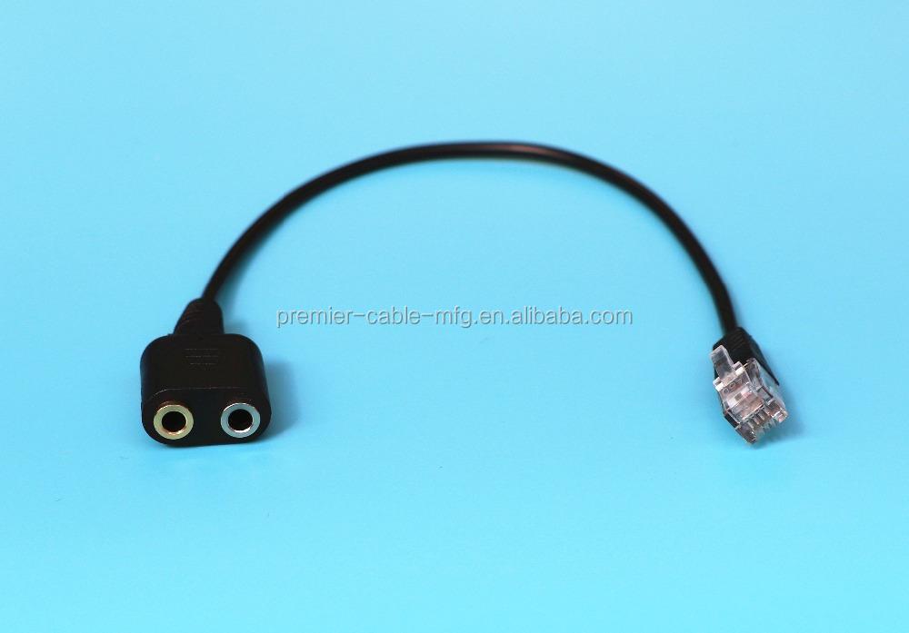 Headset Phone Adapter Rj12 Jack Wholesale, Jack Suppliers - Alibaba