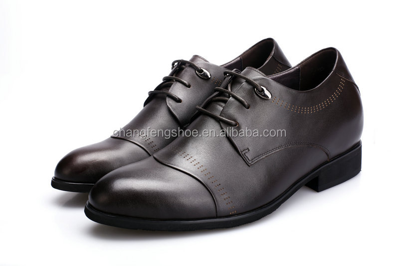 High Men leather leather class dress sole shoes POPA1Zq