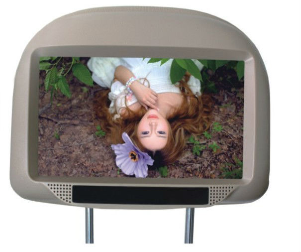 good quality 7.0 inch TFT LCD headrest DVD player with pillow IR