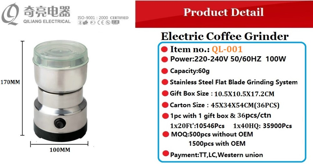 Asda Coffee Maker Instructions : Coffee Maker With Burr Grinder By Electric Power 100w Ql-001 - Buy Coffee Maker With Burr ...