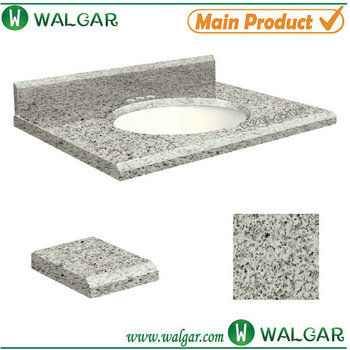 Hot 25 X 19 Inch Salt Pepper Granite G603 Undermount Single Sink