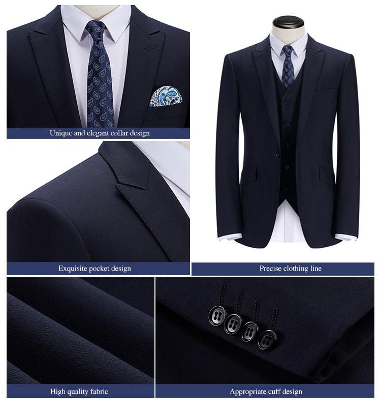 0f57f57db5 Suit Design For Man Navy Blue Straight Designer Suits - Buy Suit ...