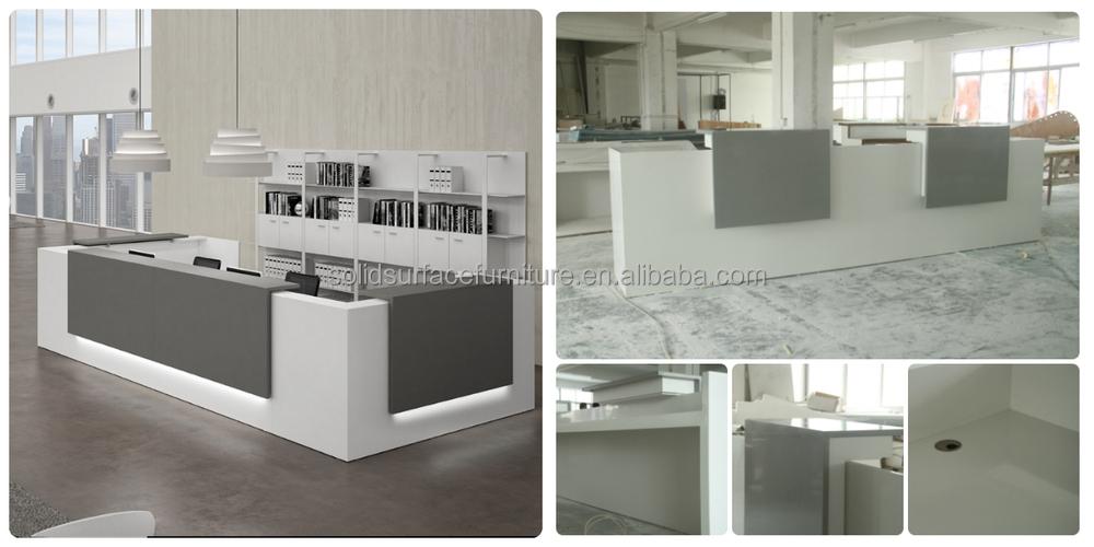Custom Modern Beauty Salon Reception Desk Office Front
