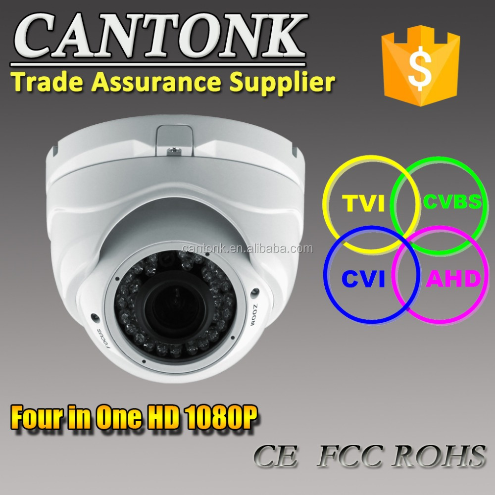 High Resolution 2mp 1080p Cctv Camera System,Manuel Zoom Lens 30m Ir  Distemce Hd Ahd&cvi&tvi&cvbs Four In One Camera - Buy Hybrid Camera Cctv