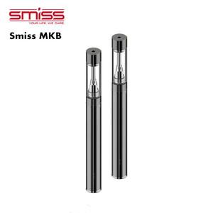 Smiss Slim Atomizer 510 Vaporizer Cartridge Empty Refillable Vape Cartridge  0 5ml 1 0ml Leak Proof