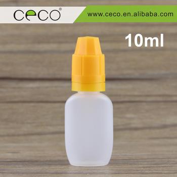 Ceco Opaque Plastic Bottle PE E Liquid 10ml Vial Factory Price Dripper Label Maker