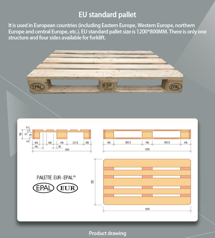 Angelic Cheap Price European Size Wooden Pallets Buy Palletwood Palleteuropean Wood Pallet Product On Alibabacom