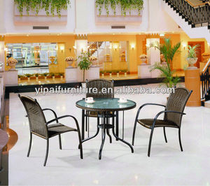 famous furniture city shunde aluminium rattan furniture outdoor furniture