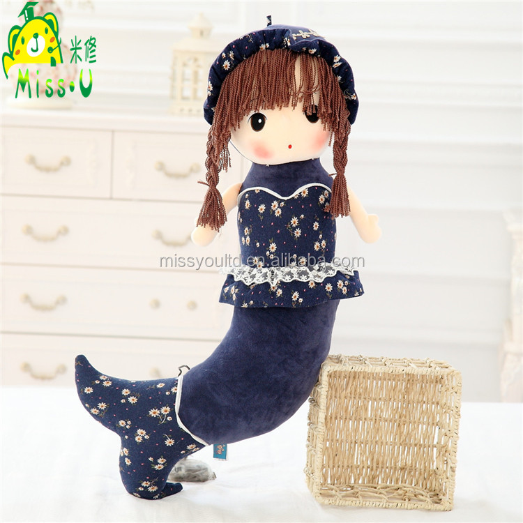 Hot Selling Sea-maid plush sex doll For Girls