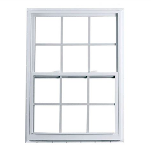 Cheap Anti-theft House Plastic Profile Window Grid PVC Vertical Sliding Window /Grill Design Up Down Windows