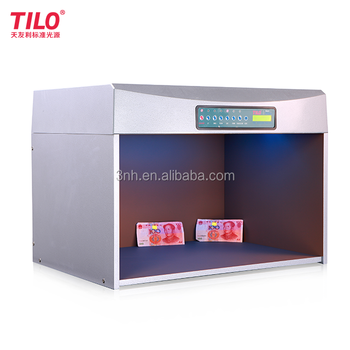 P60+ fabric color assessment cabinet / color matching light box with verivide lamp D65
