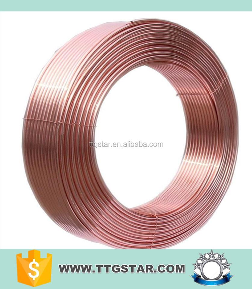 Tubo de cobre del acondicionador de aire con precio por - Precio de tuberia de cobre ...