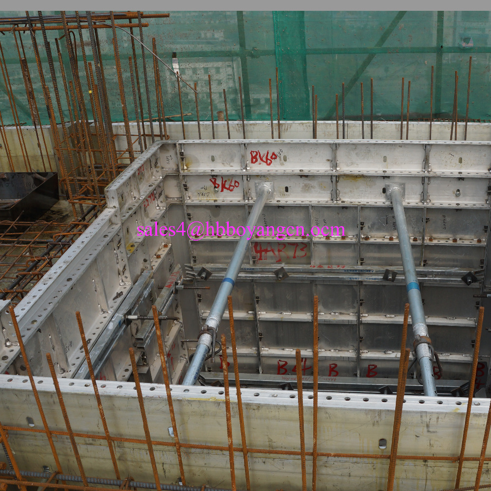 Plastic Formwork for Concrete Aluminum Template