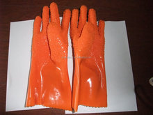 2016 hotsell rubber working gloves wholesale garden gloves for spraying protection