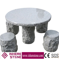 competitive price outdoor stone tables and benches