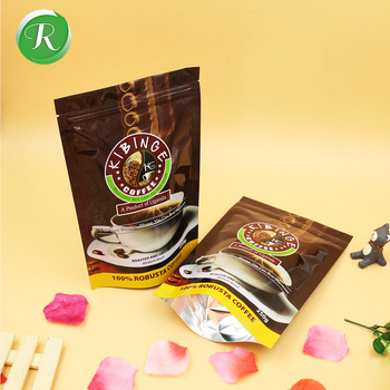 Kaffe Packaging Bag Coffee Bags With Degassing Valve Coffee Beans And Ground Roasted Coffee Bagged Private Label Buy Ziplock Coffee Bag With