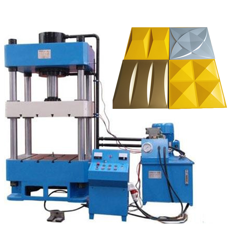 600*600 3D Wall Panel Machine