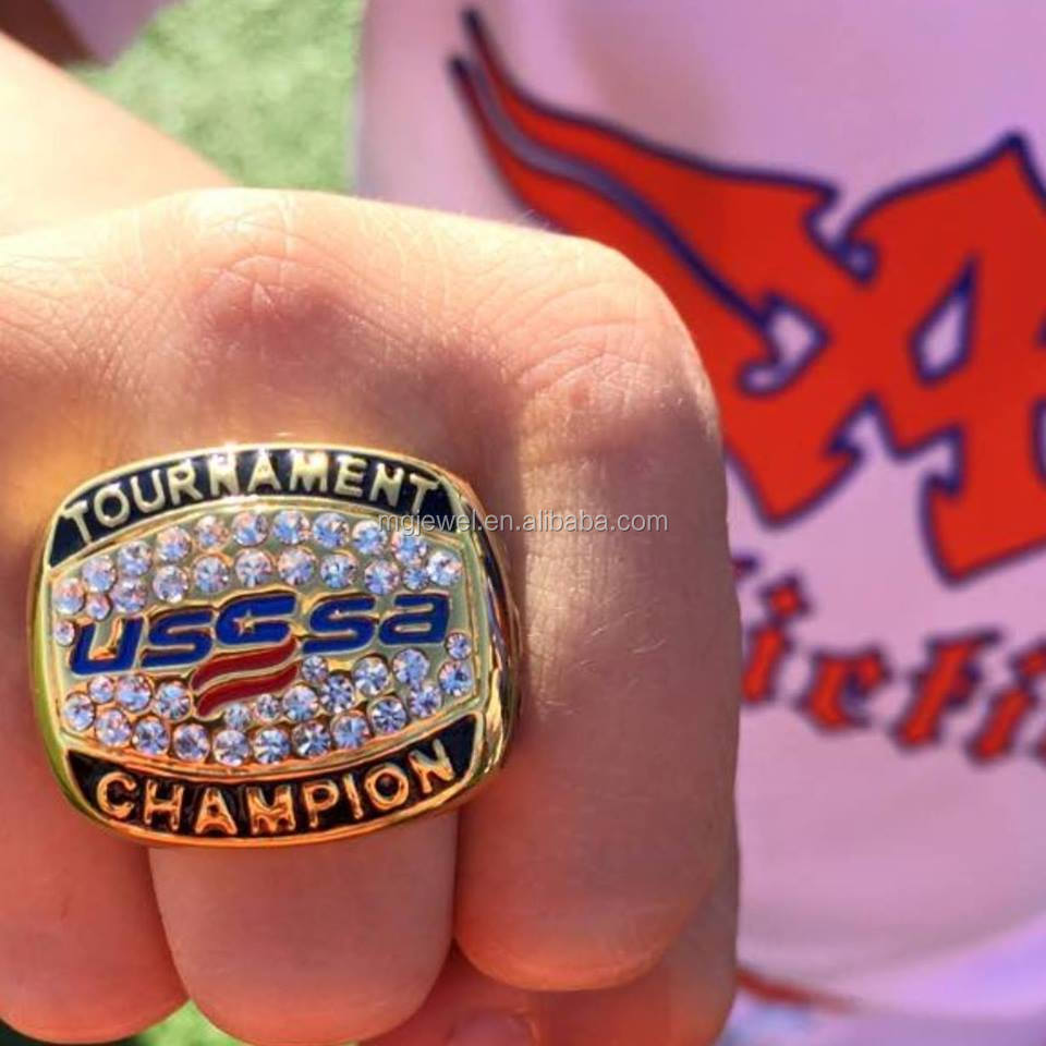 baseball and suppliers showroom softball com end replica high manufacturers at usssa championship rings alibaba