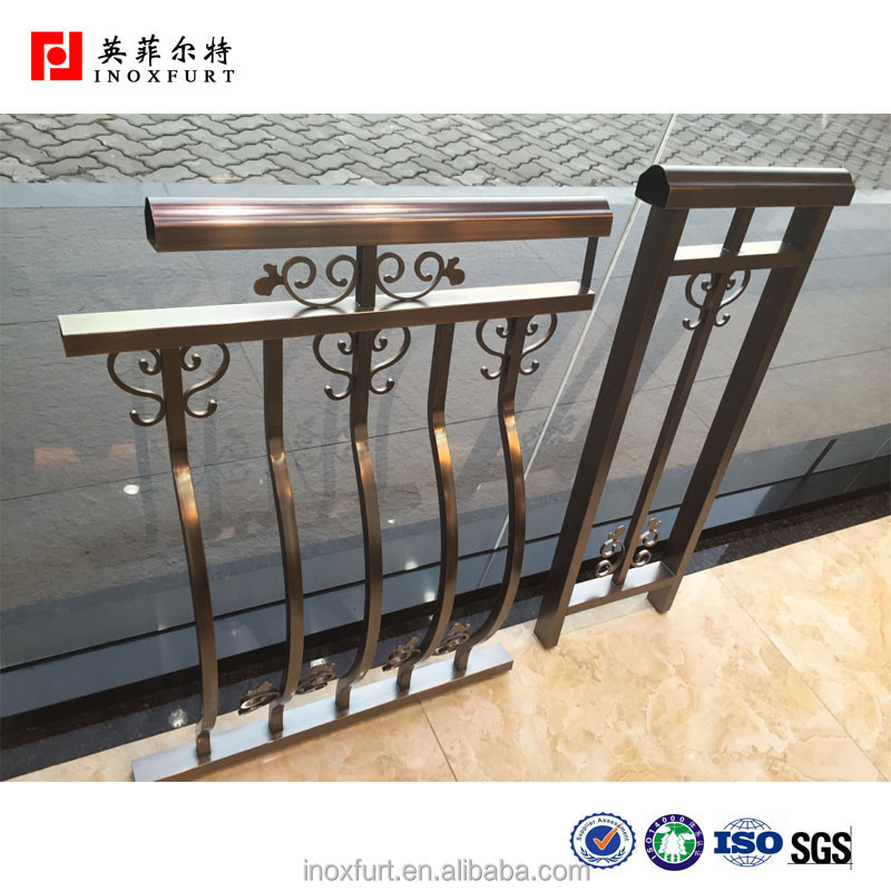 Inoxfurt Brand Luxury Stainless Steel Elevator Handrail