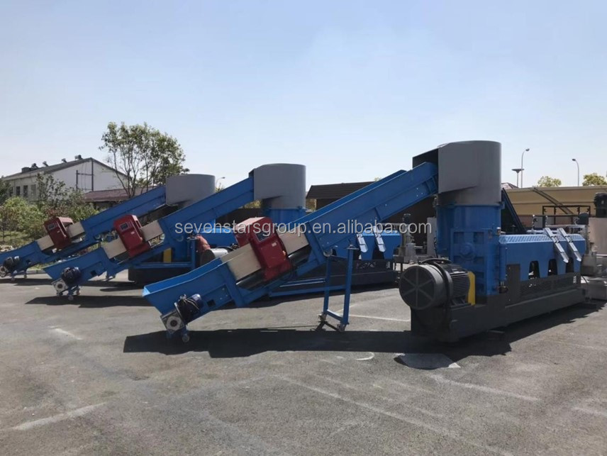 PP PE plastic recycling granulator machine with high quality