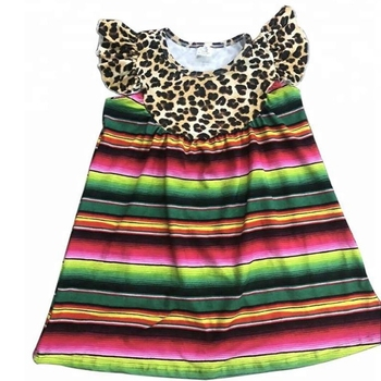 mexican serape girls pearl trim dress baby remake leopard dress frock designs for girl