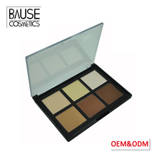 OEM waterproof mineral make up cosmetics contouring palette private label makeup contour palette