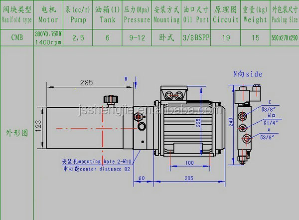 Hydraulic Power Pack Made In China,380v Hydraulic Power Units For ...