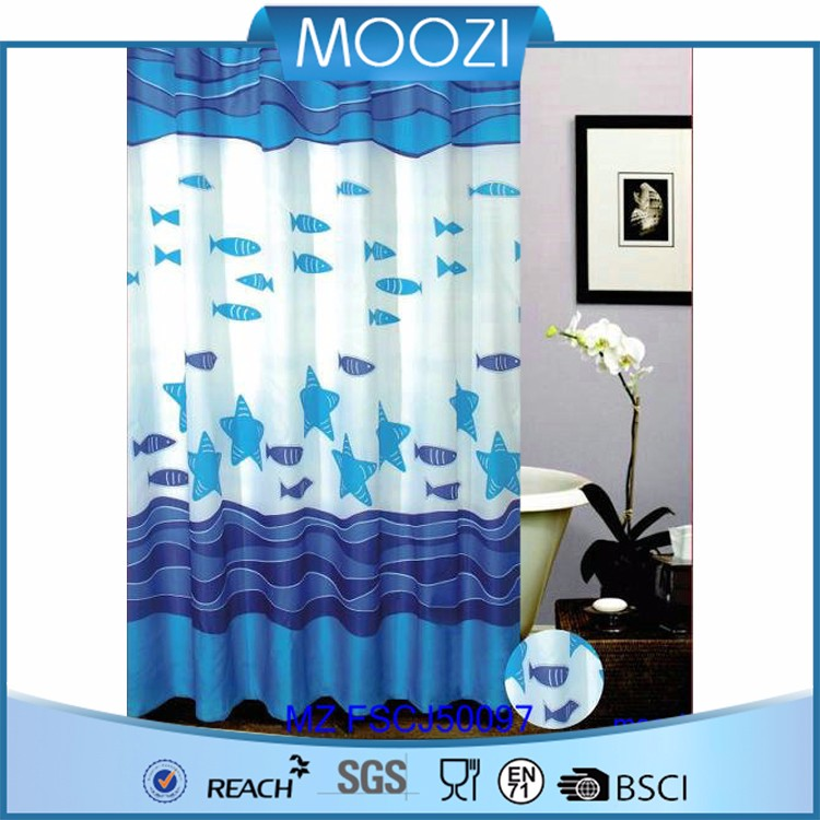 Shower Curtain With Matching Window Curtain