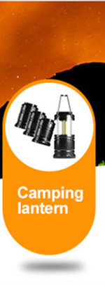 BIOSIN outdoor pole led light camping lamp lantern bulb light with hanging hook up handle