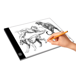 A4 size LED tracing light tablet backlight drafting stencil DIY tattoo sketching light box for designer