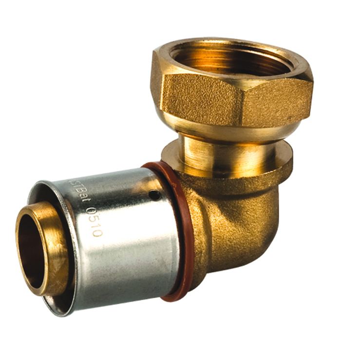 Quality Diy Decorative Industrial Pipe Shelving Kit Floor Flange Equal Shape Female Thread Cross Fitting Din2353 Brass Fittings