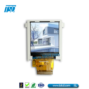 square lcd display 1.44 inch 128x128dots with resistive touch screen for smart watch lcd module