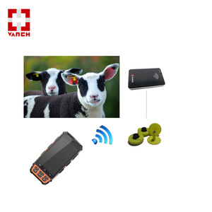 Animal ear tag reader for cattle inventory management system